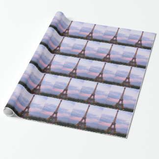 Eiffel Tower Paris Wrapping Paper