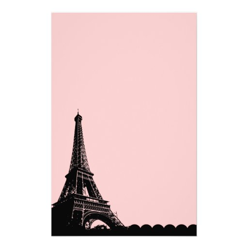Eiffel Tower - Parisian Mermories Stationery Paper