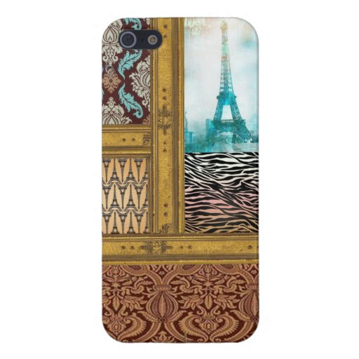 eiffel tower pattern iphone case france french par iPhone 5 case