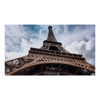 Eiffel Tower Perspective Poster