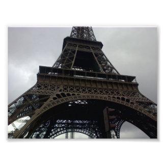 Eiffel Tower Photo Art
