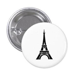 Eiffel Tower Pictogram Button