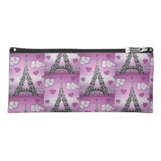 Eiffel Tower Pink Pencil Case