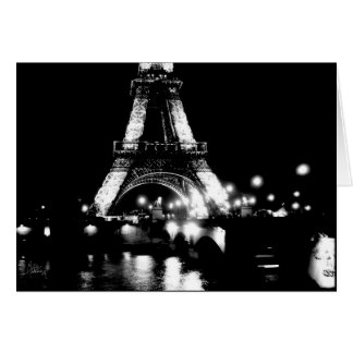 Eiffel Tower, Pont de Lena [Greeting Card] Card
