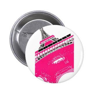 Eiffel-Tower-Poster-C13450125 2 Inch Round Button