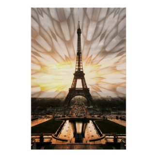Eiffel Tower, print