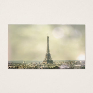 Eiffel Tower Profile Card