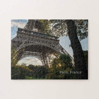 Eiffel Tower Puzzle with Gift Box