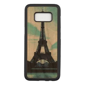 eiffel tower Samsung Galaxy S8 Slim Wood Case