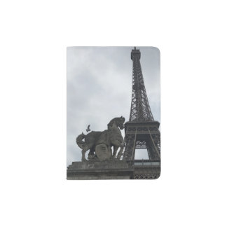 Eiffel Tower Silhouette Passport Cover