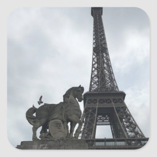 Eiffel Tower Silhouette Sticker