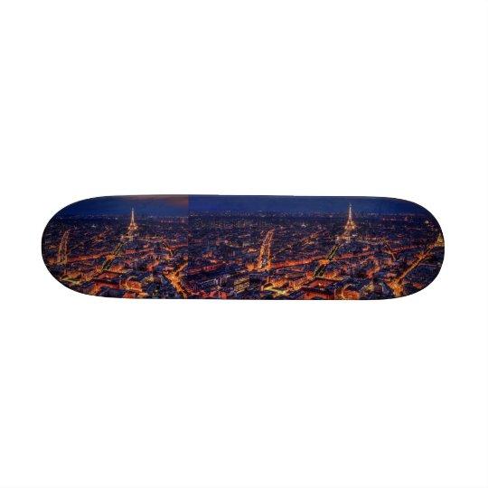 Eiffel tower skyline skateboard decks