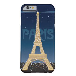 Eiffel Tower Sparkle iPhone 6/6S Barely There Case
