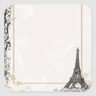 Eiffel Tower Stickers Tags