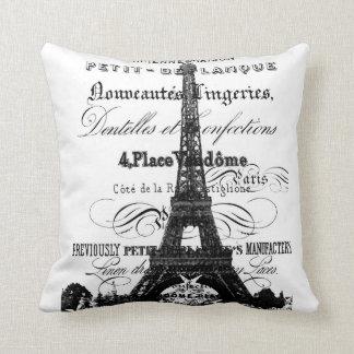 """Eiffel Tower Throw Pillow 20"""" x 20"""""""
