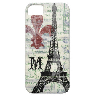 Eiffel Tower Vintage French iPhone Case Case For The iPhone 5