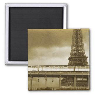 Eiffel Tower Vintage Magnet