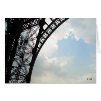 Eiffel View, S Cyr Card