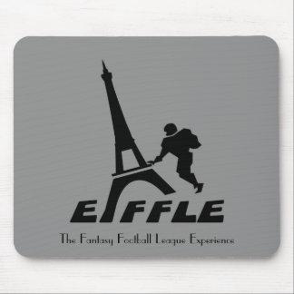 Eiffle Black Logo Mousepad