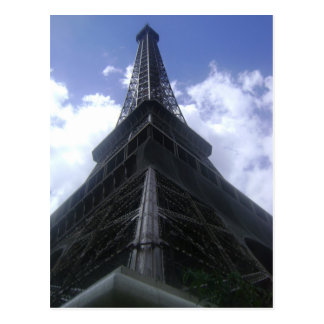 Eiffle Tower Postcard