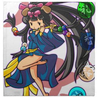 Eight 狗 God 伏 princess English story Nanso Chiba Napkin