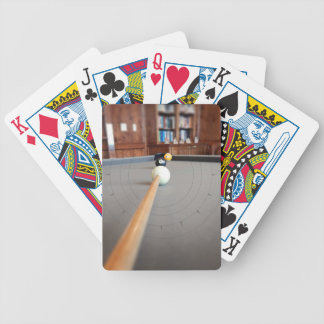 Eight Ball Corner Pocket Bicycle Playing Cards