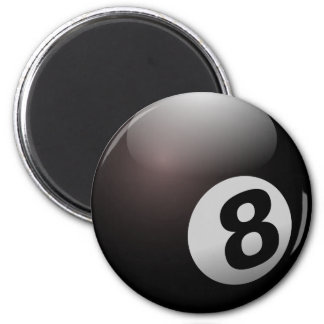Eight ball Pool Party Magnet