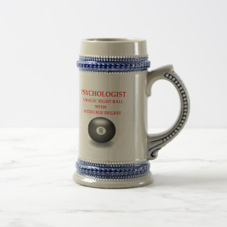 EIGHT BEER STEIN