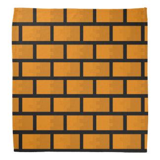 Eight Bit Brick Wall Bandana