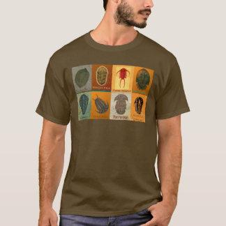 Eight Fossil Trilobites T-Shirt