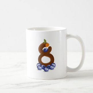 Eight fruits coffee mug