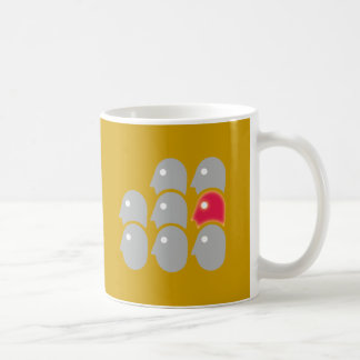 Eight heads individualist loner mug
