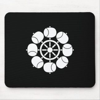Eight hydraulic turbines mouse pad