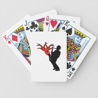 Eight Legged Melody Bicycle Playing Cards
