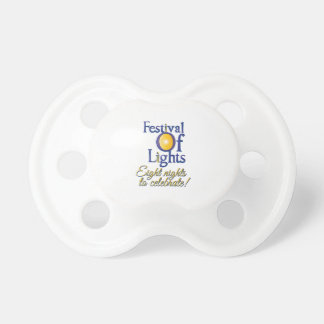 Eight Nights Baby Pacifier