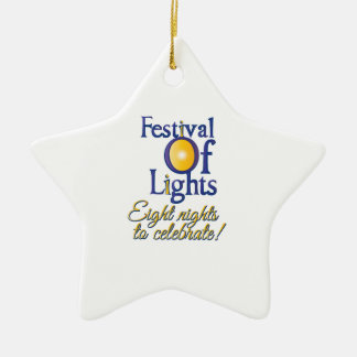 Eight Nights Christmas Tree Ornaments
