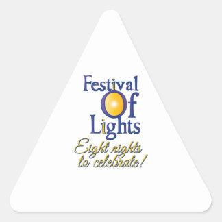 Eight Nights Sticker