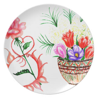 Eight of March Art Plate