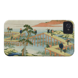 Eight part bridge, province of Mucawa, Japan, c.18 iPhone 4 Cases