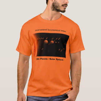 Eight Planets and New Solar System, I T-Shirt