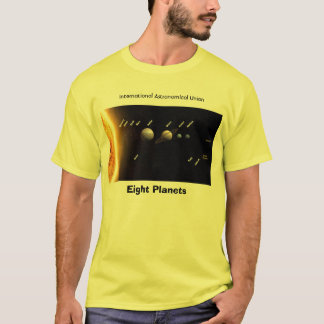 Eight Planets and New Solar System,  T-Shirt