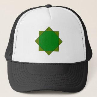 eight pointed star islam religion Buddhism Melchiz Trucker Hat