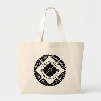 Eight rattan large tote bag