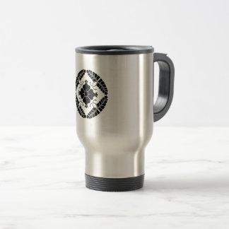 Eight rattan travel mug
