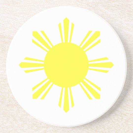 Eight Ray Sun Coaster