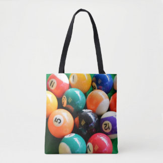 Eightball The Numbered Traditional Colour Balls, Tote Bag