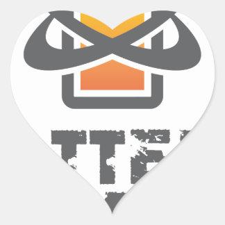 Eighteenth February - Battery Day Heart Sticker