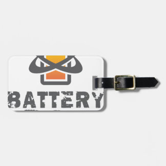Eighteenth February - Battery Day Luggage Tag
