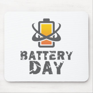 Eighteenth February - Battery Day Mouse Pad