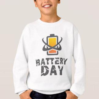 Eighteenth February - Battery Day Sweatshirt